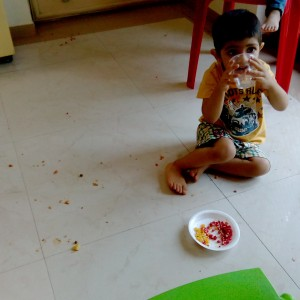 no food needs to be eaten unless spilled on the floor